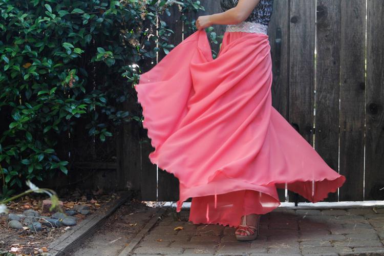 Diy Long Circle Skirt Tutorial My 14 Skirt Yarns