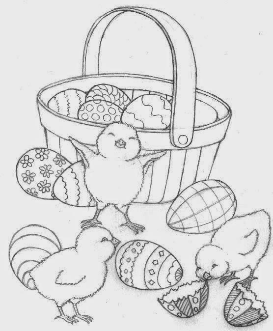 Desenhos De Pascoa Para Colorir Espaco Educar