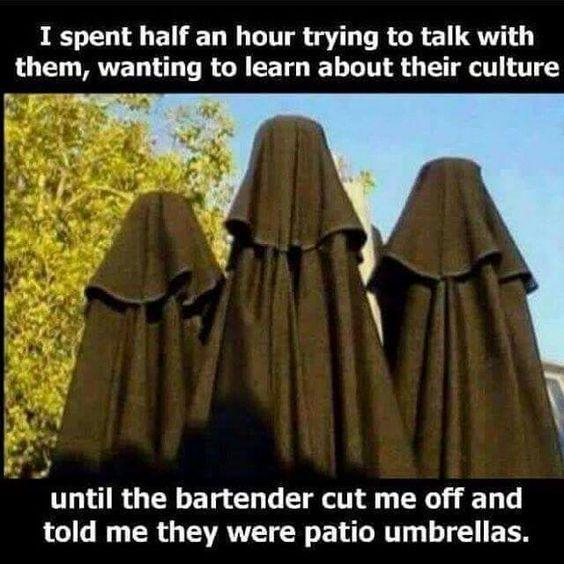 Funny Islam Muslim Burka Fail Meme Picture