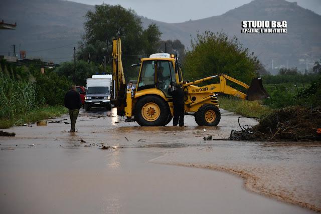 Επίσημη ανακοίνωση από την αστυνομία προς τους πολίτες για τις πλημμύρες στο Άργος