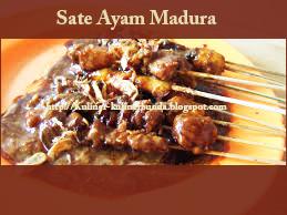 Resep Kuliner Sate Ayam Madura Jempolan!