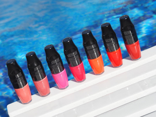 Lancome matte shakers review, swatches, photos!