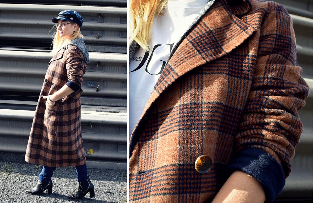 wie trägt man das Karo Muster, Modeblog für Frauen ab 40