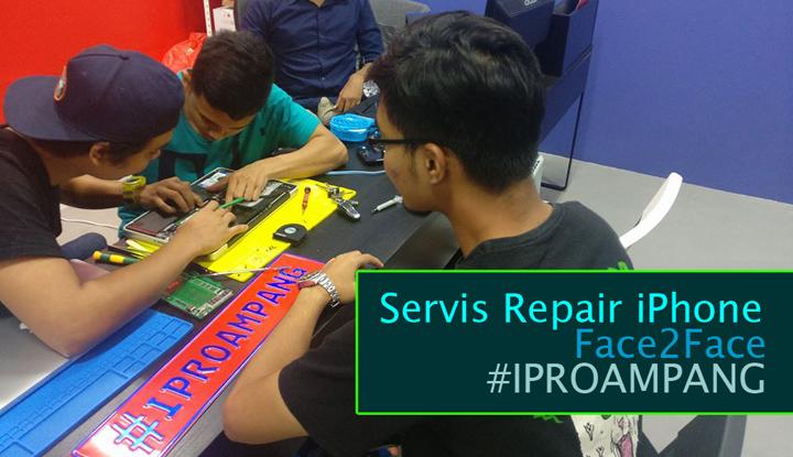 Servis Repair iPhone di IPro Ampang Secara Face-to-Face Memang Diyakini