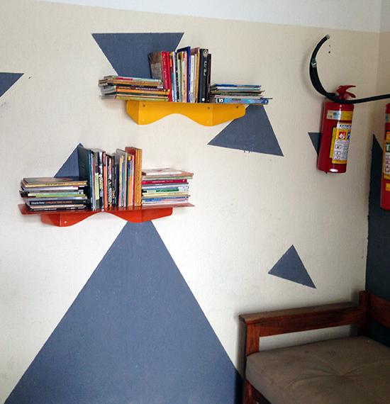 casas Taiguara, a casa eh sua, acasaehsua, pintar parede, parede geométrica