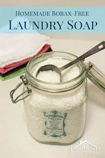 http://www.practicallyfunctional.com/homemade-borax-free-laundry-soap/