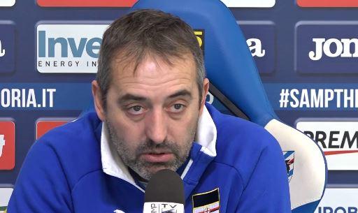 Sampdoria Spal: la conferenza stampa di Marco Giampaolo