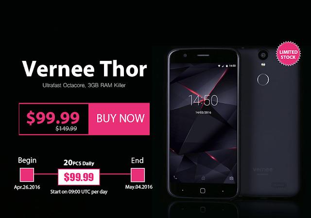 【セール情報】GWのIYHに99ドルでAndroid6.0のVernee Thorはいかが...?