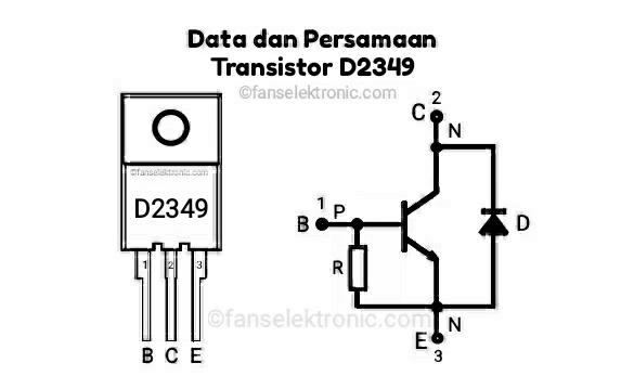 Persamaan Transistor D2349