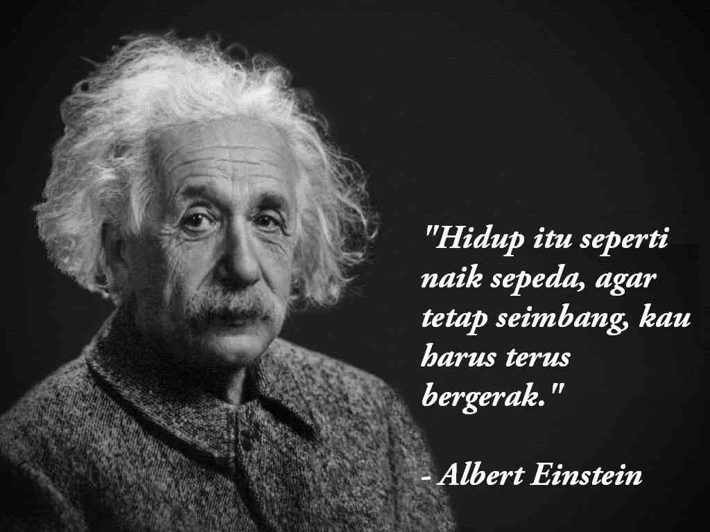Kutipan Kalimat Bijak Albert Einstein Yang Sarat Makna Sarnoid