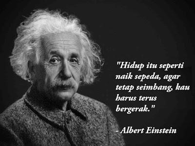 Kutipan Kalimat Bijak Albert Einstein yang Sarat Makna