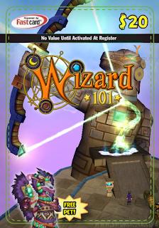 Wizard101 Azteca Bundle/Giftcard