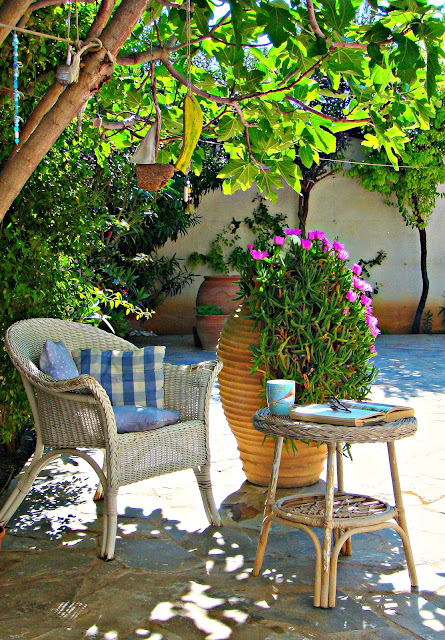 Morning coffee, Greek style.