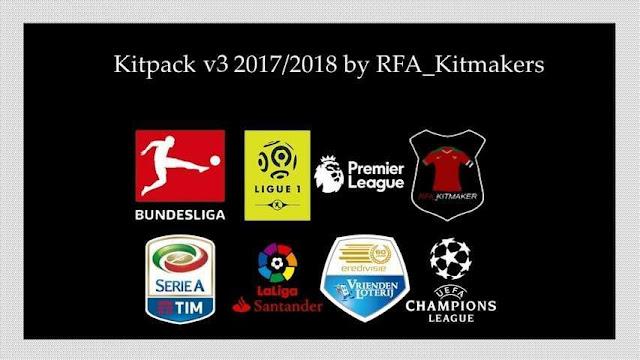 Kitpack Season 2017-2018 PES 2017