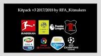 Kitpack V3 Season 2017-2018 - PES 2017