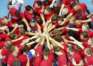 2016 Team USA swimmers