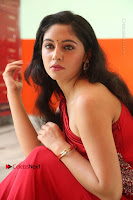 Actress Zahida Sam Latest Stills in Red Long Dress at Badragiri Movie Opening .COM 0134.JPG