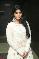 Megha Akash in beautiful White Anarkali Dress at Pre release function of Movie LIE ~ Celebrities Galleries 047.JPG