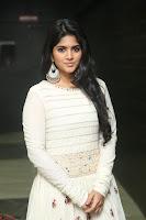 Megha Akash in beautiful White Anarkali Dress at Pre release function of Movie LIE ~ Celebrities Galleries 047.JPG
