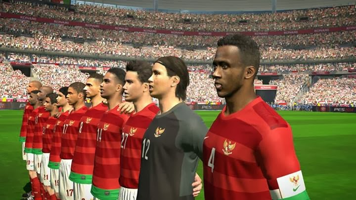 PESMODIF: PES 2014 Timnas Indonesia [Senior] by FiqarGFX