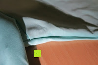 Seite: MODETREND Damen Kleider mit Bogen 1/2-Arm Etui Elastisch Tulpenkleid Wort Schulter Partykleider Bleistiftrock Abendkleid Casualkleider