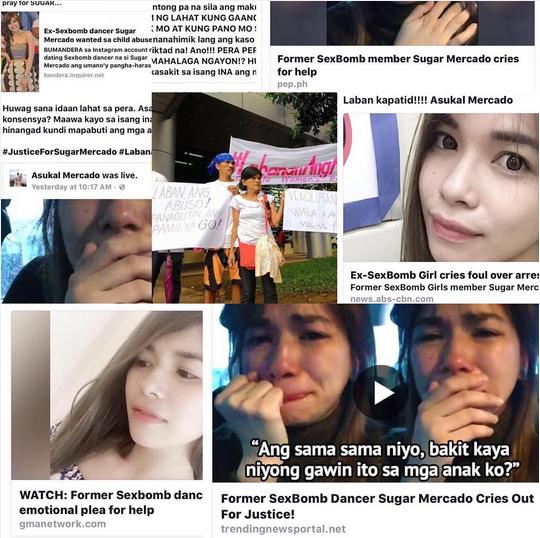 Ex-Sexbomb Sugar Mercado grateful to TNP and supporters.
