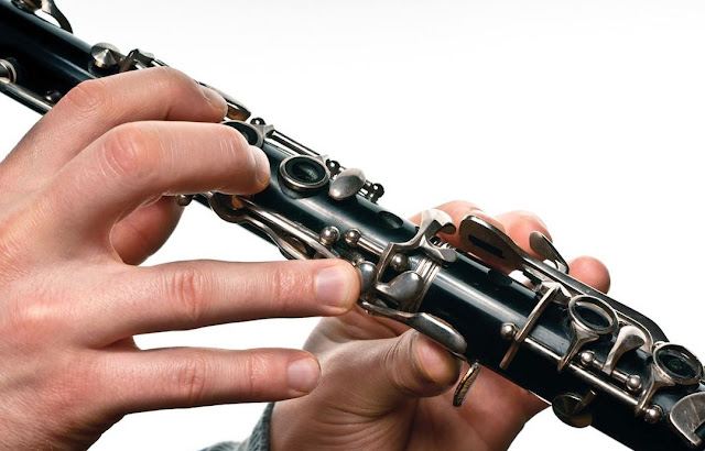 In clarinet, keys are the silver rings we press to cover the holes in clarinet in order to change the pitch of the sound