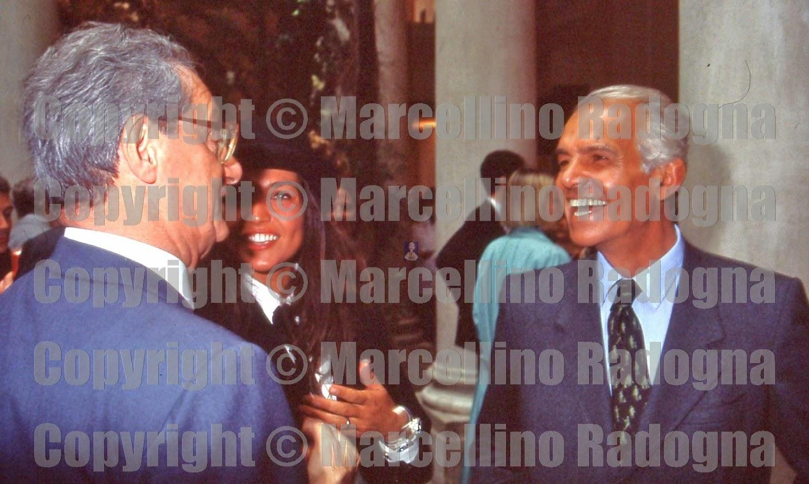 Marcellino Radogna - Fotonotizie per la stampa: Cesare Romiti con Raul  Gardini e la figlia Eleonora