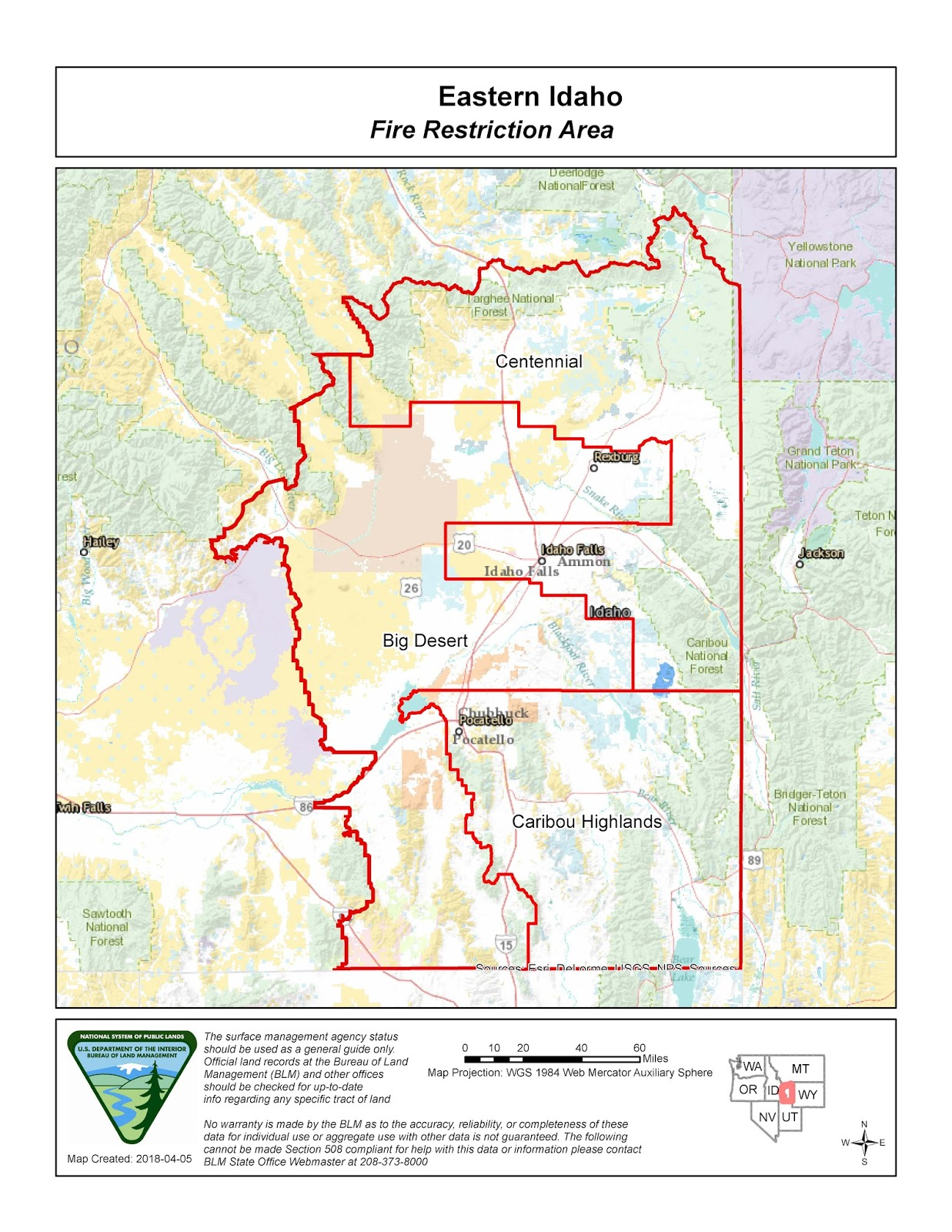 Current Fires In Montana Map.Idaho Fire Information Eastern Idaho Fire Restriction Area