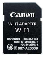Canon Wi-Fi Adapter W-E1 Adapter
