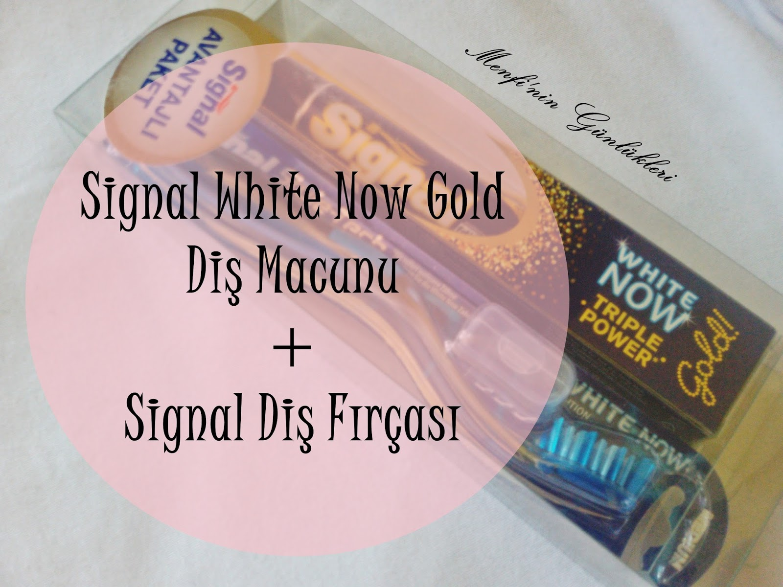 Signal White Now Gold Diş Macunusignal Ultra Reach Diş Fırçası