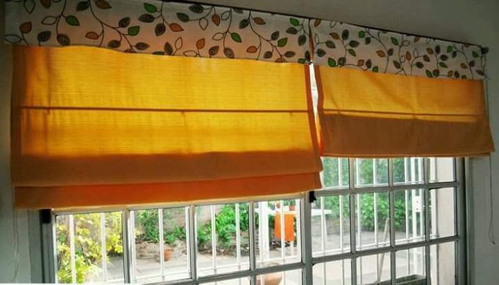 Persianas o cortinas romanas decoraci n del hogar - Cortinas con estilo ...