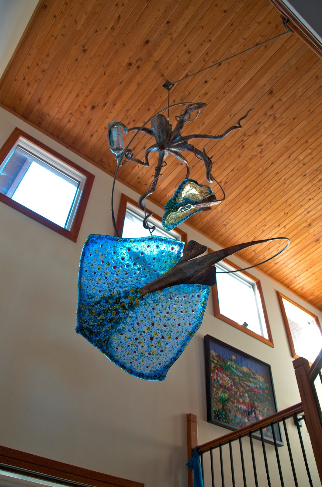 Stan Harmon Glass Art Amp Sculpture Octopus Stingrays And