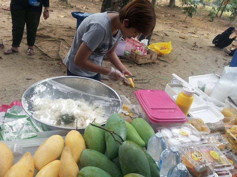 Sedapnya Pulut Mangga Thailand, Tomyam Thai Dan Laksa Myanmar!
