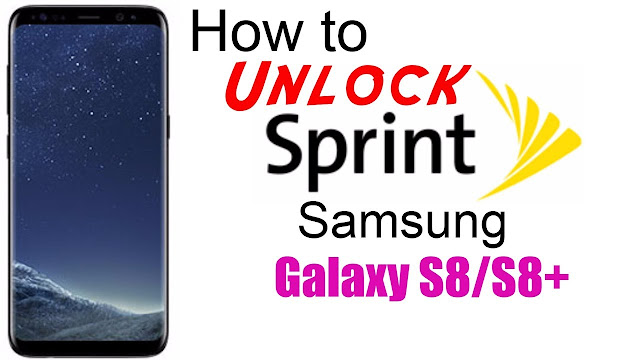 Unlock Samsung Galaxy S8 PLUS SPRINT Sprint network