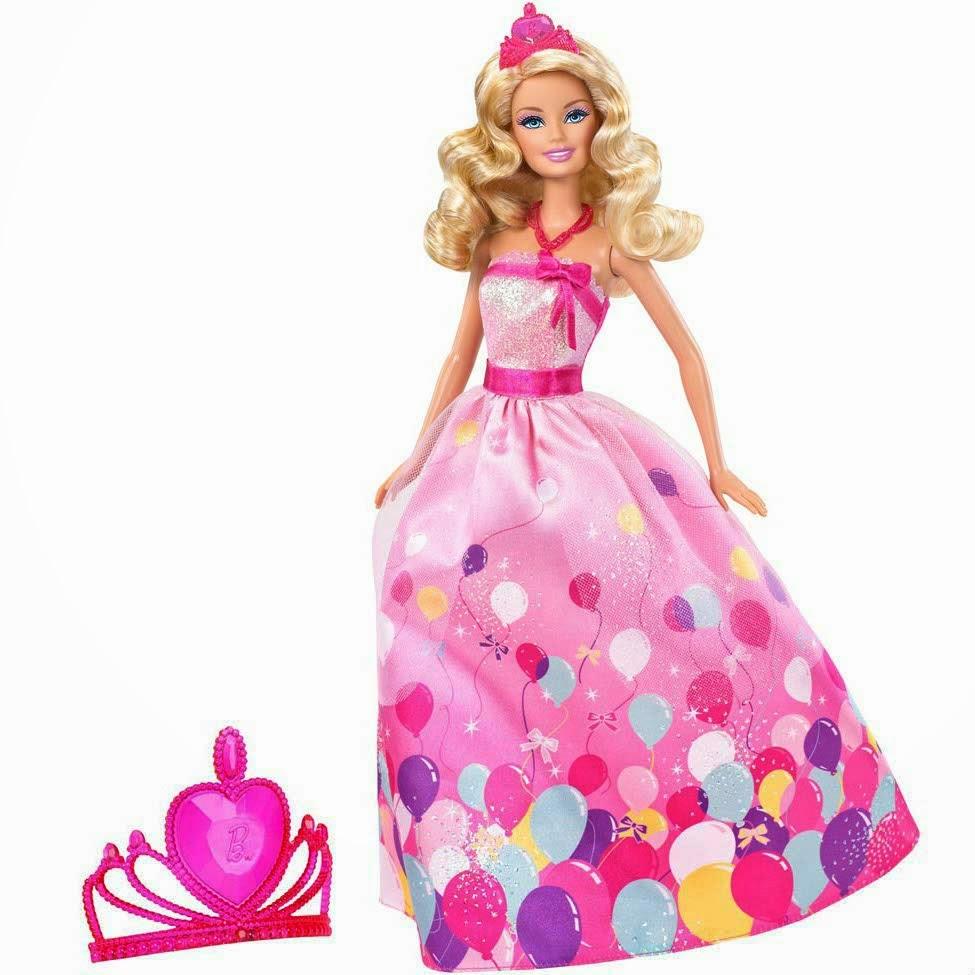 Gambar boneka barbie princess untuk anak