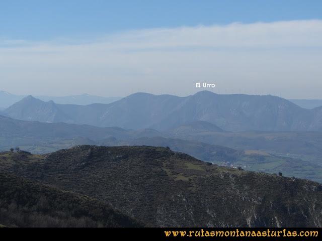 Ruta Linares, La Loral, Buey Muerto, Cuevallagar: Desde el Buey Muerto, Pico El Urro