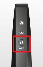 Tasto WPS router