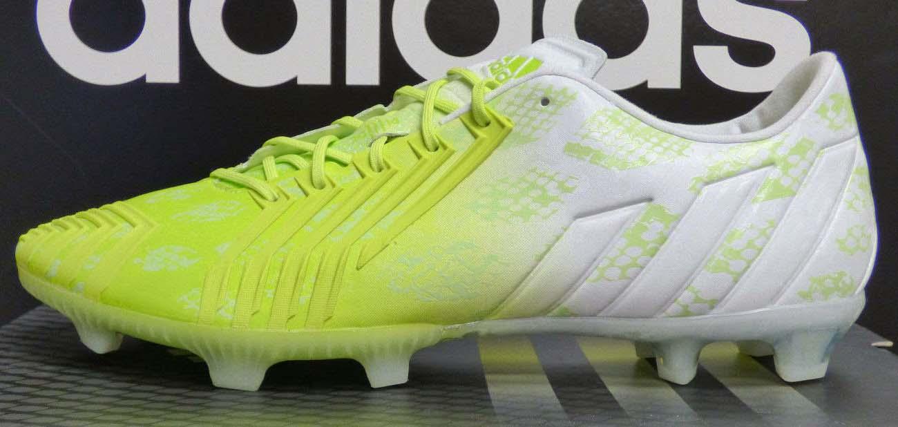 outlet store 295fe ec5f4 Adidas Predator Instinct Hunt White   Bahia Glow