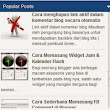 Cara Membuat Scroll Widget Popular Post         |          Piper Comex