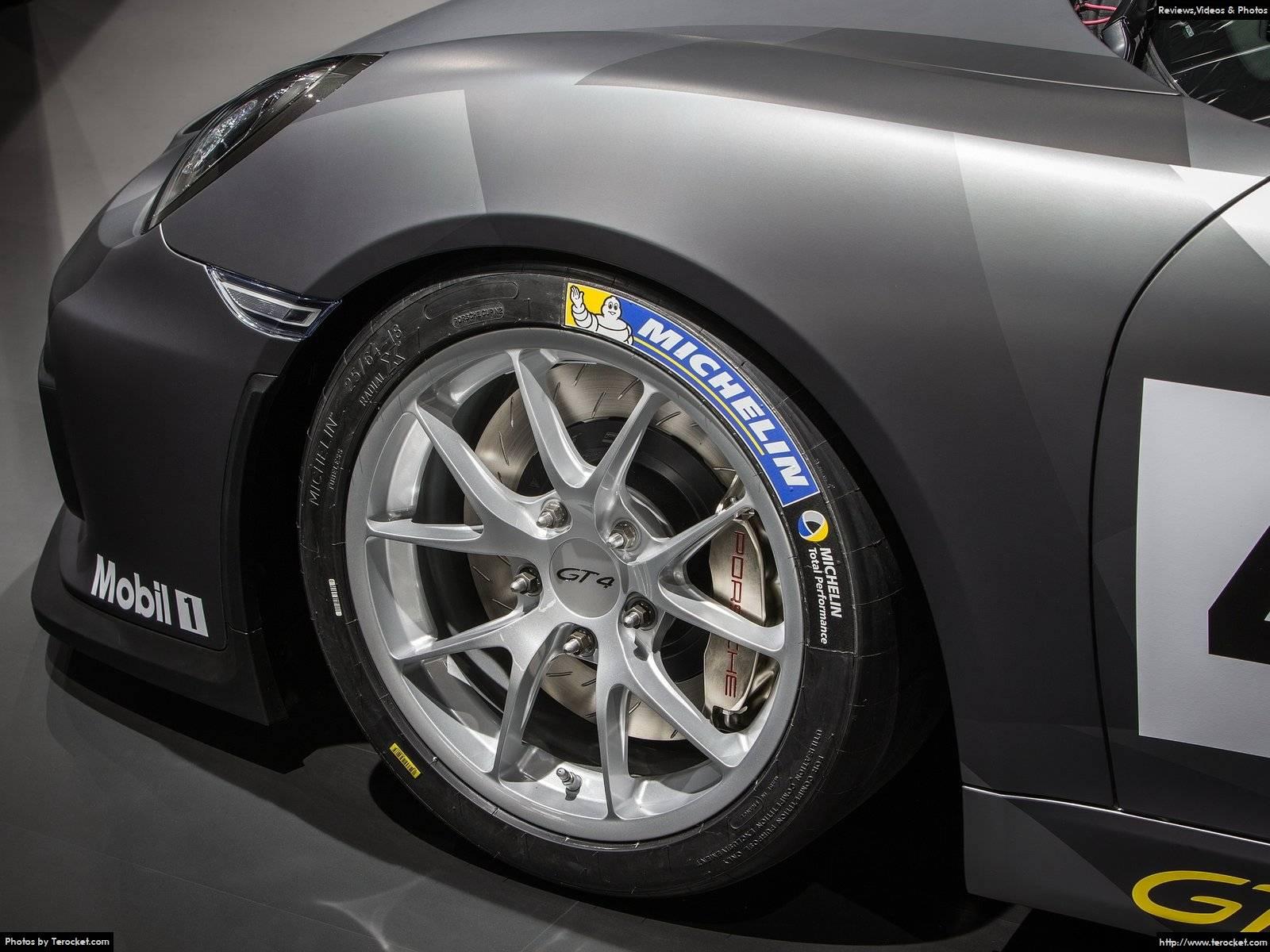 Hình ảnh xe ô tô Porsche Cayman GT4 Clubsport 2016 & nội ngoại thất
