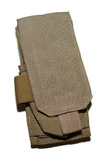 Eagle Industries MLCS Khaki Mike4 5.56 Single Mag Pouch - SEAL NSW DEVGRU SOF