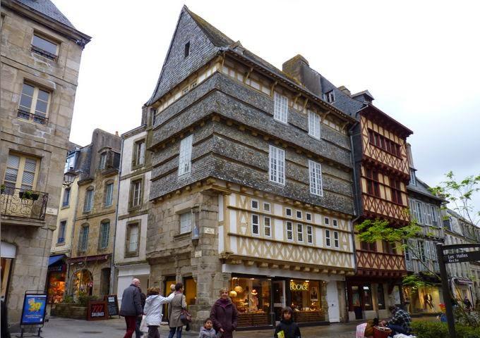 Vieux Quimper, Rue Kéréon.