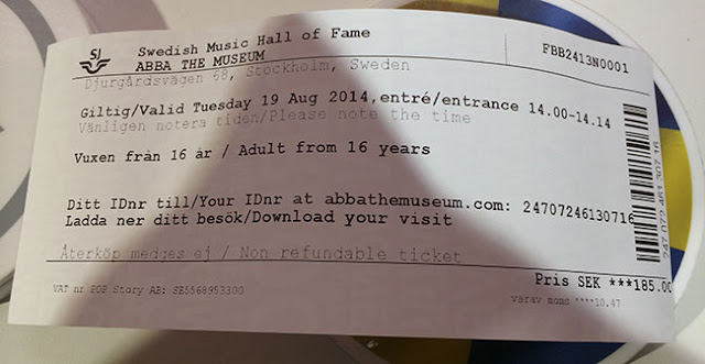 ABBA Museum Entrance Ticket