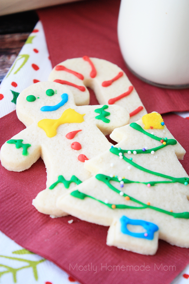 Cream Cheese Cutout Cookies
