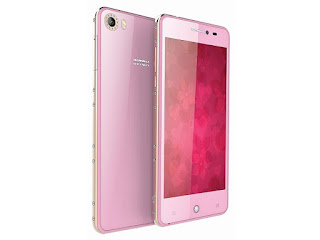 Intex Aqua Glam Female-Centric smartphone with 8MP selfie shooter launched at Rs. 7,690 intex aqua glam 777228