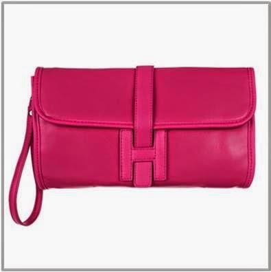 Spurr Hot Pink Clutch