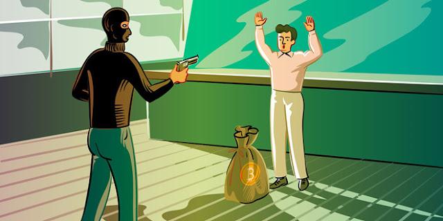 Một Trader bị tấn công cướp Bitcoin ngay tại nhà riêng