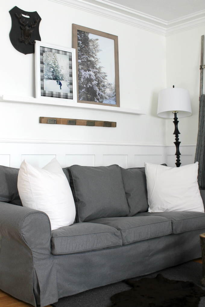 New Slipcover for my Ikea Ektorp Sofa - Review - The ...