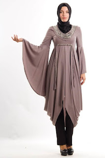 Ide baju muslim tunik modern